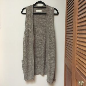 Urban Outfitters knit cardigan vest
